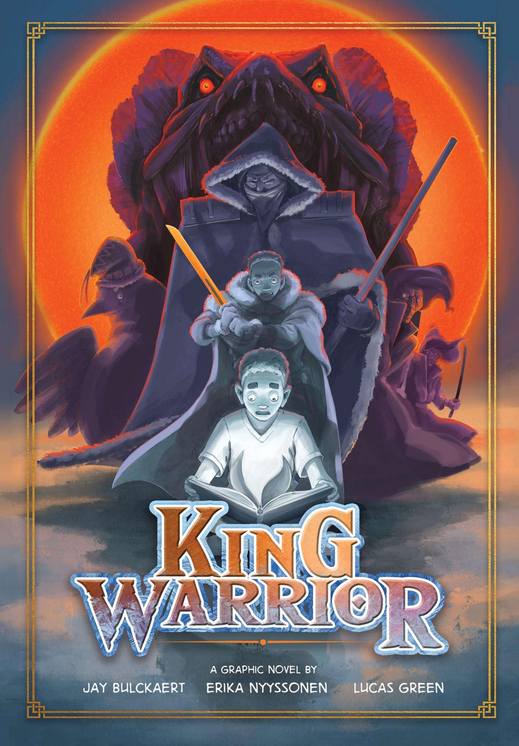 King Warrior Poster