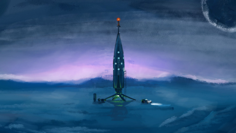 Daily Spaceship Sketches